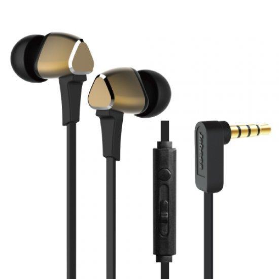 Jabees M4 หูฟัง In-Ear สเตอริโอ พร้อมไมค์สนทนาและรีโมทควบคุม
